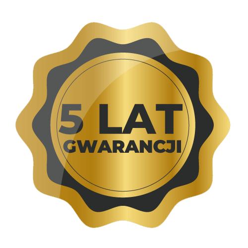 Znaczek 5 lat gwarancji