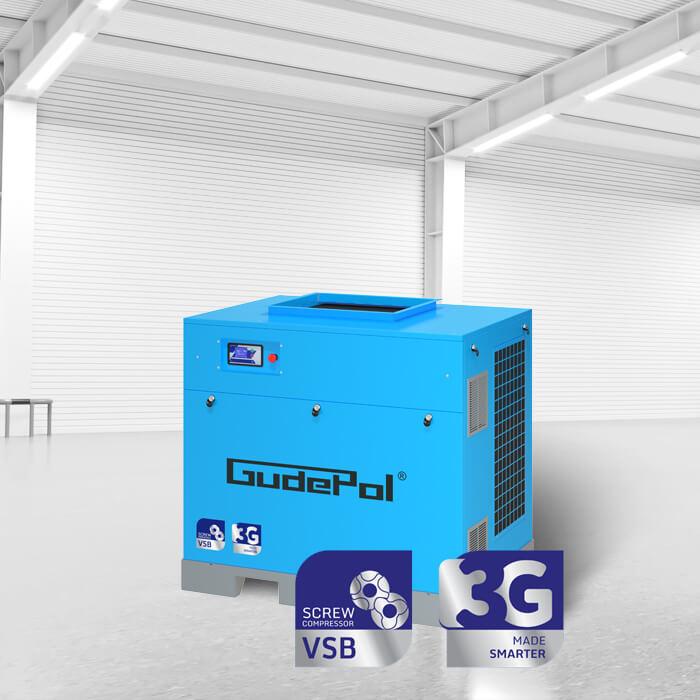 Zdjęcie przedstawiające kompresor VSB marki Gudepol
