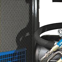 Zdjęcie wyciszenia obudowy montowanego w kompresorach serii VSB